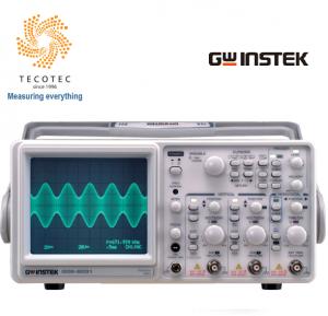 Máy hiện sóng tương tự (30MHz, 2CH), Model: GOS-6031