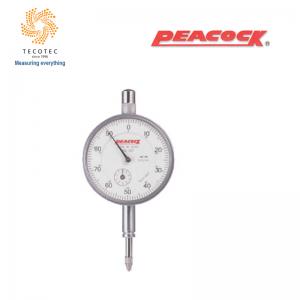 Đồng hồ so tiêu chuẩn Peacock (10mm, 0.01mm), Model: 107