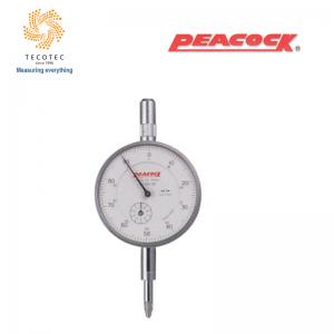 Đồng hồ so tiêu chuẩn Peacock (10mm, 0.01mm), Model: 107-DX