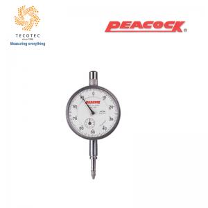 Đồng hồ so tiêu chuẩn Peacock (10mm, 0.01mm), Model: 107-E