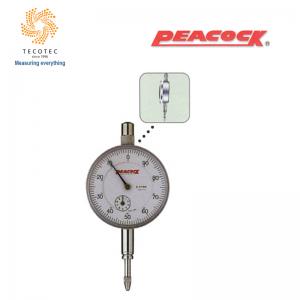Đồng hồ so tiêu chuẩn Peacock (10mm, 0.01mm), Model: 107F-T