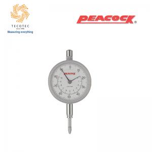 Đồng hồ so tiêu chuẩn Peacock (10mm, 0.01mm), Model: 107W