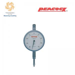 Đồng hồ so chân thẳng Peacock (0.8mm, 0.01 mm), Model: 17B
