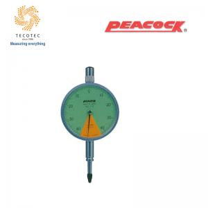 Đồng hồ so chân thẳng Peacock (0.8mm, 0.01 mm), Model: 17Z