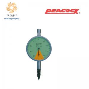 Đồng hồ so chân thẳng Peacock (0.8mm, 0.01 mm), Model: 17Z-SWA