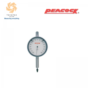 Đồng hồ so chân thẳng Peacock (0.16 mm, 0.001 mm), Model: 18