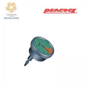 Đồng hồ so chân thẳng Peacock (0.8mm, 0.01 mm), Model: 196Z