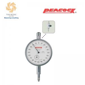 Đồng hồ so tiêu chuẩn Peacock (2mm, 0.001 mm), Model: 25S
