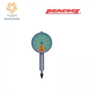 Đồng hồ so chân thẳng Peacock (0.8mm, 0.01 mm), Model: 47Z-XB
