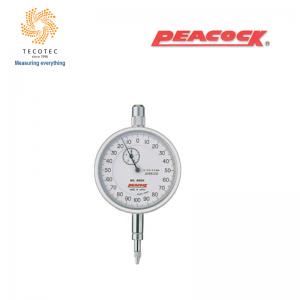 Đồng hồ so tiêu chuẩn Peacock (5mm, 0.001 mm), Model: 55-DX