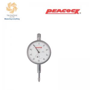Đồng hồ so tiêu chuẩn Peacock (5mm, 0.01mm), Model: 57