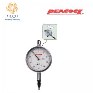 Đồng hồ so tiêu chuẩn Peacock (5mm, 0.01mm), Model: 57-SWA