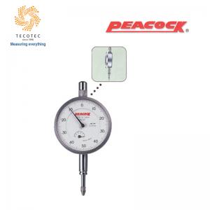 Đồng hồ so tiêu chuẩn Peacock (5mm, 0.01mm), Model: 57B