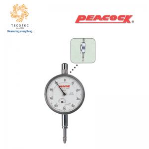 Đồng hồ so tiêu chuẩn Peacock (5mm, 0.01mm), Model: 57F