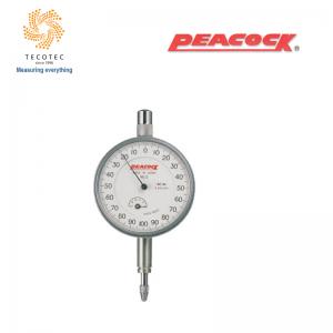 Đồng hồ so tiêu chuẩn Peacock (1mm, 0.001 mm), Model: 5B