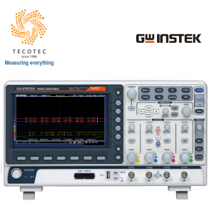 Máy hiện sóng, Model: MSO-2204EA (200Mhz, 4 kênh, phân tích logic, 1 Gsa/s, Phát xung)