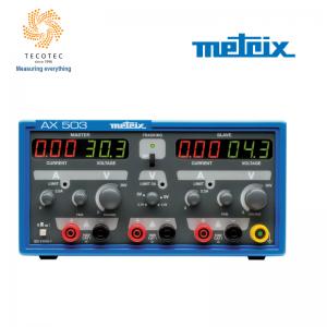 Máy cấp nguồn thí nghiệm 3 ngõ ra, Model: AX 503