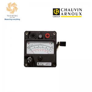 Máy đo điện trở cách điện có tay quay, Model: C.A 6501