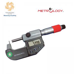 Panme đo ngoài điện tử (Tube) 0-25mm, Model: EM-9124